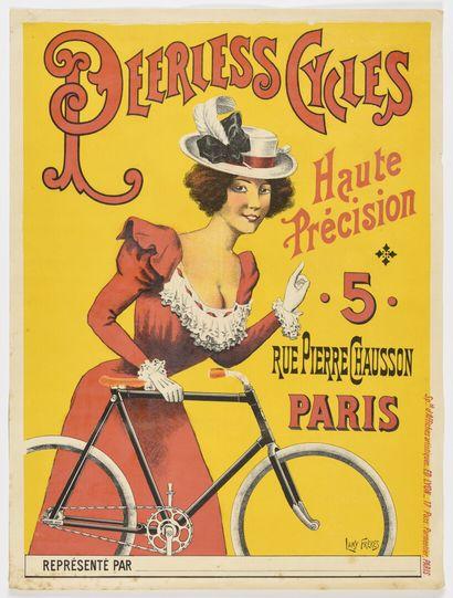 LAMY, PERLESS Cycles  72 x 50 cm  (légères...