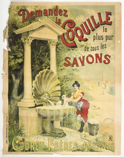 La petite coquille savon Couret Marseille...