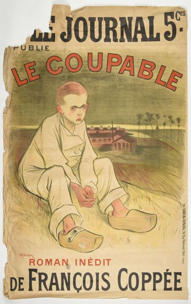 STEINLEN, Le coupable,  Charles Verneau  Manque...