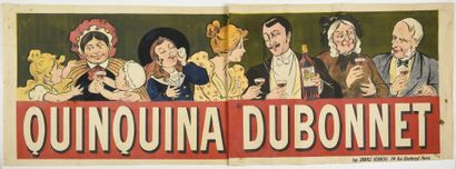 QUINQUINA DUBONNNET affiche double, (face)...