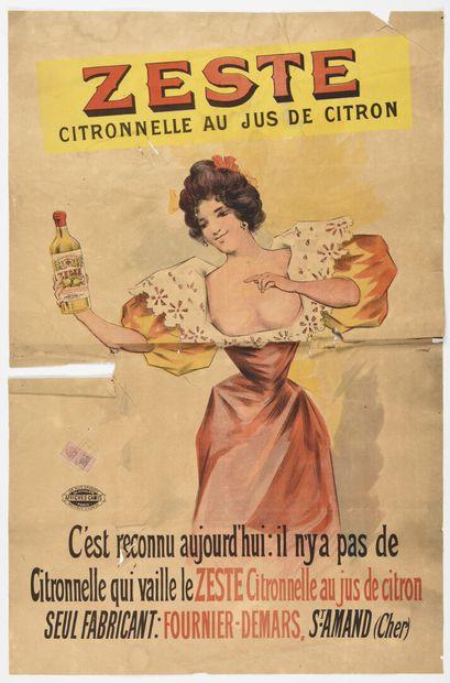 Zest citronnel , Saint Amand cher Camis,...