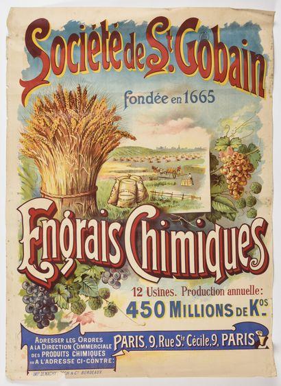 Société de Saint Gobain, Engrais chimique,...