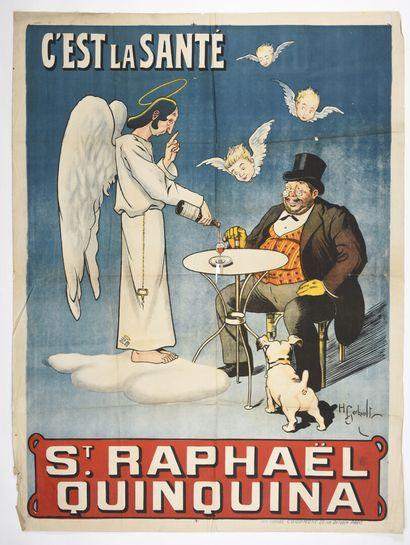 GOBAULT, Saint Raphael, Courmont  160 x 120...