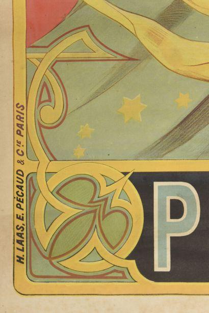 Picon, imp LAAS  150 x 80 cm  (manques, déchirures, parties détachées, trous de...
