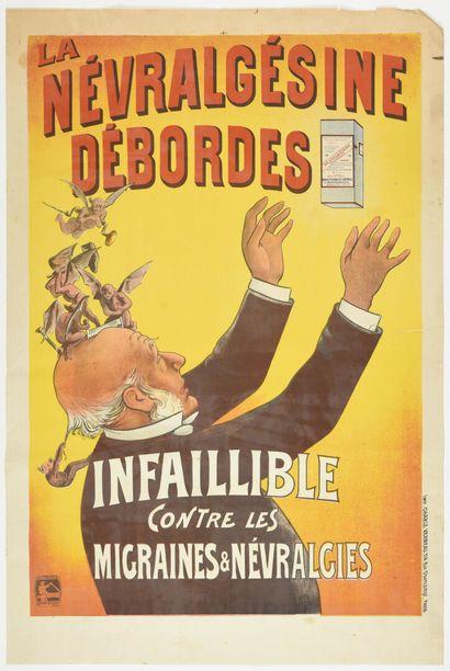 Névralgésine Desbordes, Veraneau  120 x 80...