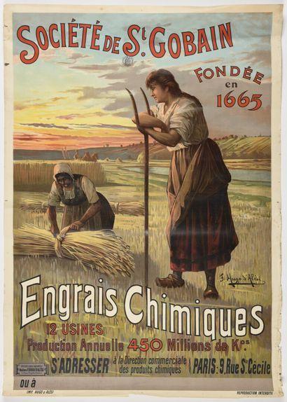 Ugo d'ALESI  Société Saint Gobain, Engrais,...