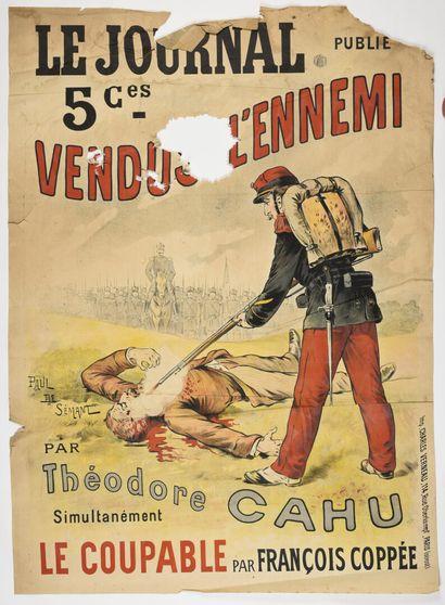 Paul de SEMANT,» Le journal», vendu à l'ennemi,...