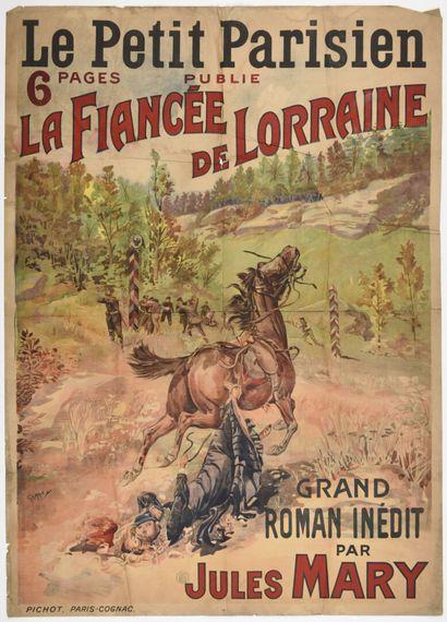 MARY, Le Petit Parisien la Fiancée de Lorraine,...