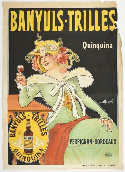 M AUZOLLE, Banyuls-Trille quinquina, Perpignan-Bordeaux...