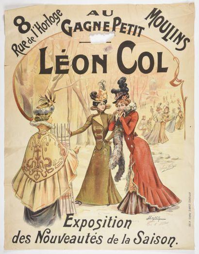 TICHON, AU Gagne Petit, Leon Col, Moulins...