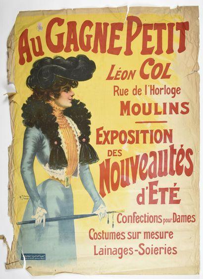 L'ENFER, Au gagne petit, Léon COL à Moulins,...