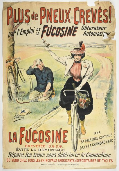 Gil BAER, FUCOSINE, CHAMPENOIS  155 x105...