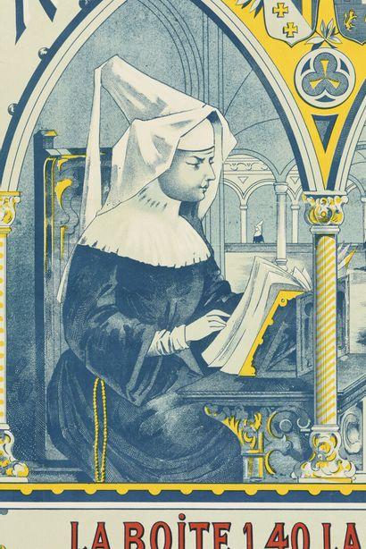 Sucre d'orge, de santé des religieuses de Saint Aure, Wallays Nisse et Cie  80 x...