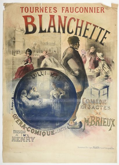 DILLON, Blanchette Opéra comique un acte...