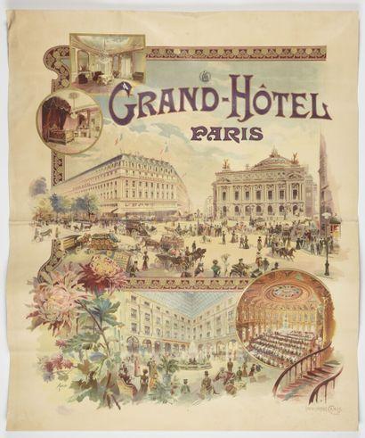 TAMAGNO, Grand Hôtel Paris, Camis  90 X...