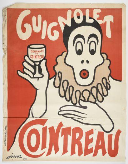 JOSSOT, Guignolet Cointreau, 1898  130 x...
