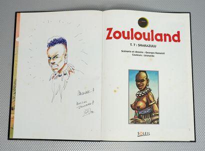 Zoulouland (Ramaïoli). 11 albums.    Tomes...
