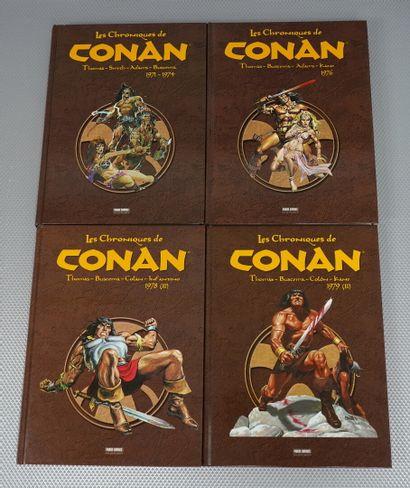 Les Chroniques de CONAN (Fleisher Buscema,...