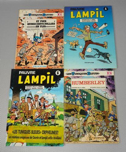 Les TUNIQUES Bleues (Cauvin Lambil) 26 albums...