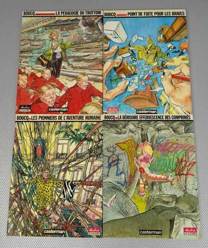 BOUCQ 8 albums    Pas de Deo Gratias pour...