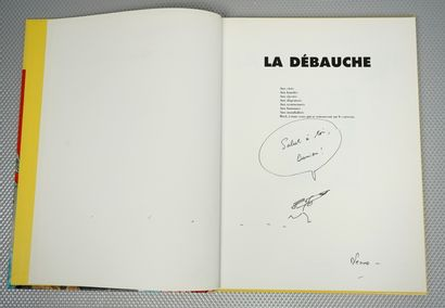 La Débauche (TARDI et PENNAC). Futuropolis,...