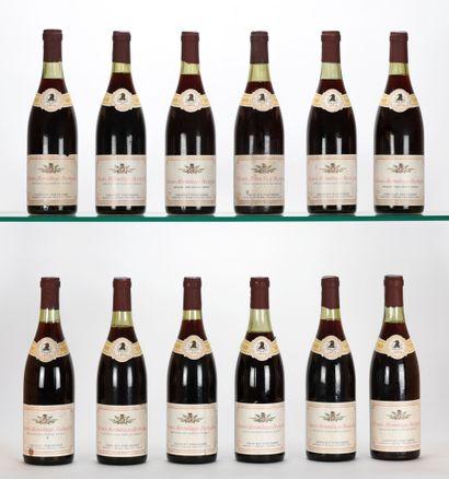 12 B CROZES-HERMITAGE ROCHEFINE Rouge (1...