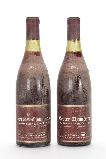 2 B GEVREY-CHAMBERTIN LAVAUX-SAINT-JACQUES...