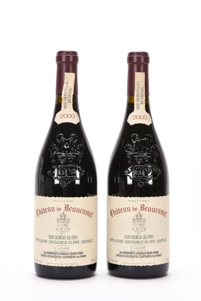 2 B CHÂTEAUNEUF DU PAPE Rouge Château de...