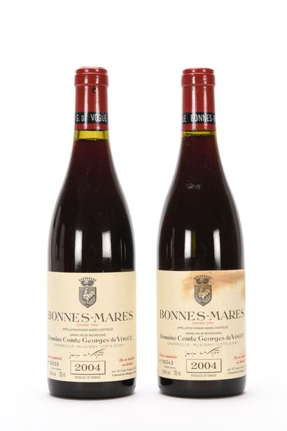 2 B BONNES-MARES (Grand Cru) (1 e.t.h.) Comte de Vogüé 2004