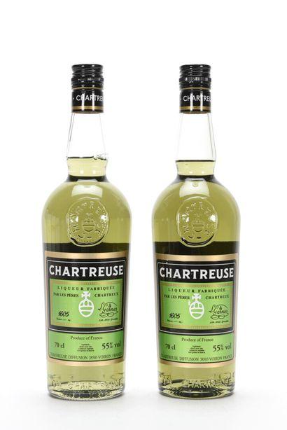 2 B CHARTREUSE VERTE VOIRON (mise 2009) Pères...