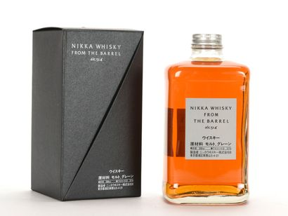 1 B WHISKY FROM THE BARREL 50 cl 51,4% (étui)...