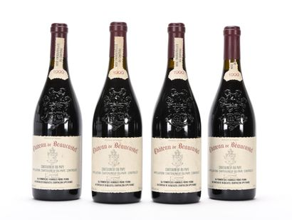 4 B CHÂTEAUNEUF DU PAPE Rouge (e.l.s.) Château...