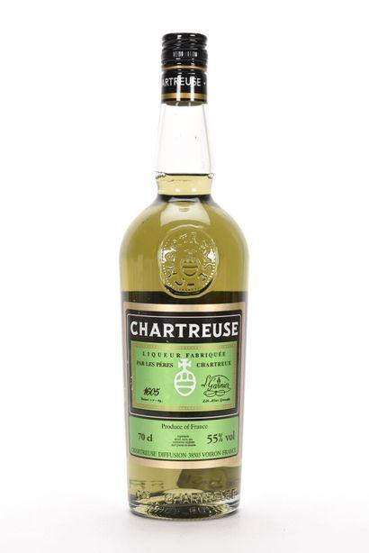 1 B CHARTREUSE VERTE VOIRON (mise 2007) Pères...