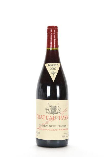 1 B CHÂTEAUNEUF DU PAPE Rouge Château Rayas...