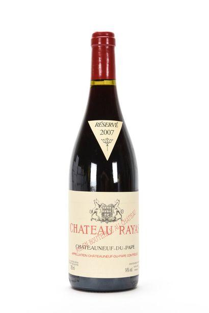 1 B CHÂTEAUNEUF DU PAPE Rouge Château Rayas 2007