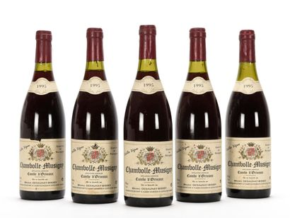 5 B CHAMBOLLE-MUSIGNY COMBE D'ORVEAUX VIEILLES...