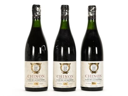 3 B CHINON CLOS DE LA DIOTERIE (1 à 2,5;...
