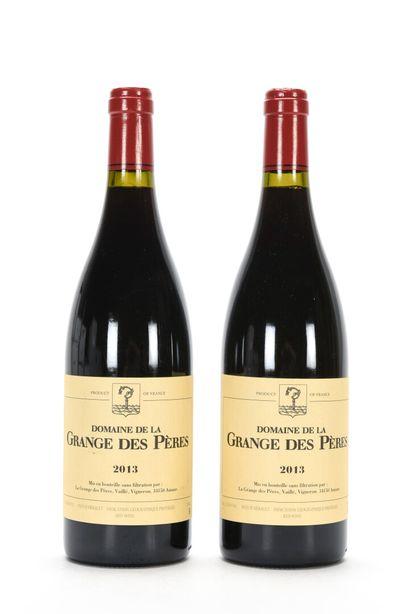 2 B VIN DE PAYS DE L'HÉRAULT Rouge Domaine...