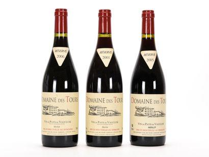 1 B VIN DE PAYS DE VAUCLUSE MERLOT Domaine...