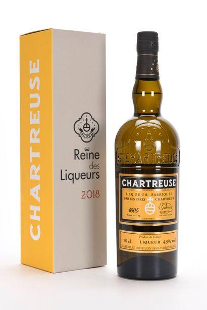 1 B CHARTREUSE JAUNE LA REINE DES LIQUEURS...