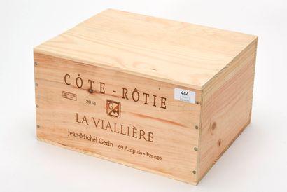 6 B CÔTE-RÔTIE LA VIALLIÈRE (Caisse Bois...