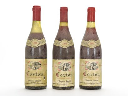 1 B CORTON (Grand Cru) (e.l.s.) Domaine Pavelot...