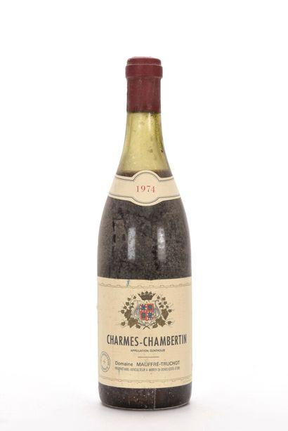 1 B CHARMES-CHAMBERTIN (Grand Cru) (5 cm;...