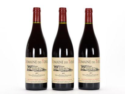 3 B VIN DE PAYS DE VAUCLUSE Rouge Domaine...