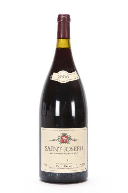 1 Mag SAINT-JOSEPH Rouge (e.t. légères; clm.a.) Pierre Gonon 2000