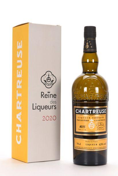 1 B CHARTREUSE REINE DES LIQUEURS 70 cl 43%...