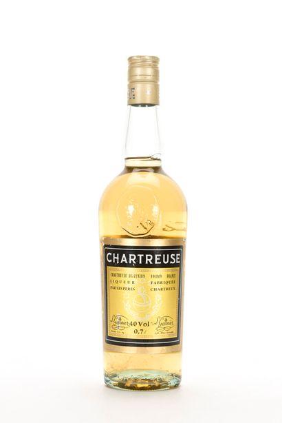 1 B CHARTREUSE JAUNE VOIRON PÉRIODE 1966-1982...