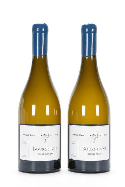 2 B BOURGOGNE CHARDONNAY Arnaud Ente 201...