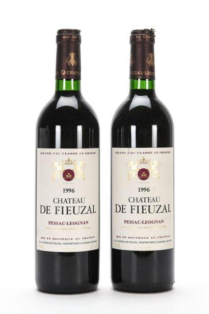 2 B CHÂTEAU DE FIEUZAL Rouge (c.a.) CC Graves...