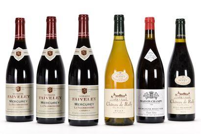 3 B MERCUREY LA FRAMBOISIÈRE (1er Cru) Faiveley...